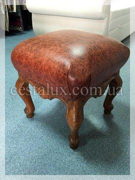 Перетяжка кожаного стула