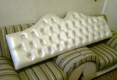 перетяжка изголовий кроватей