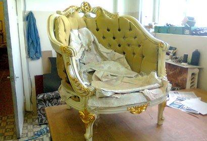 кресло перетяжка киев