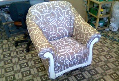 кресло перетяжка недорого