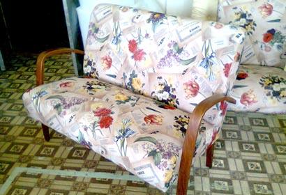 кресло перетяжка ремонт