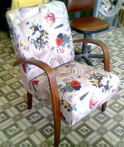 отремонтировать кресло