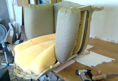 кресло перетяжка