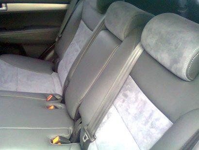 перетяжка заднего сидения авто