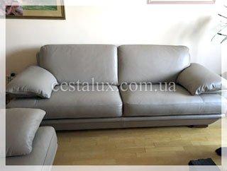 Перетяжка дивана кожей стоимость